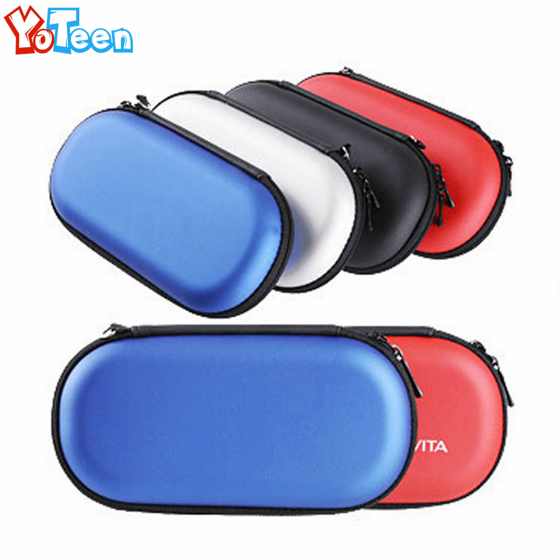for Sony PSV1000 PSV2000 Bag Storage Travel Hard Case Protective bag Pouch for Sony Psvita PS Vita PSV 1000 2000 Protector Box tempered glass front back clear screen protector cover protective film guard for sony playstation psvita ps vita psv 2000 slim