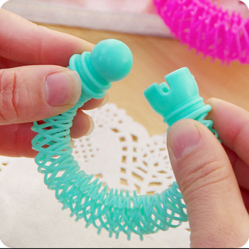 Image 4 - 8Pcs New Magic Hair Donuts Hair Styling Roller Hairdress Magic Bendy Curler Spiral Curls DIY Tool for Woman Hair Accessories-in Braiders from Beauty & Health
