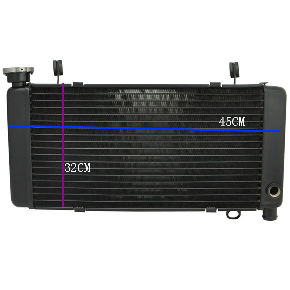 Aluminum Motorcycle Water Cooling Cooler Radiator Coolant for HONDA CBR400 NC29