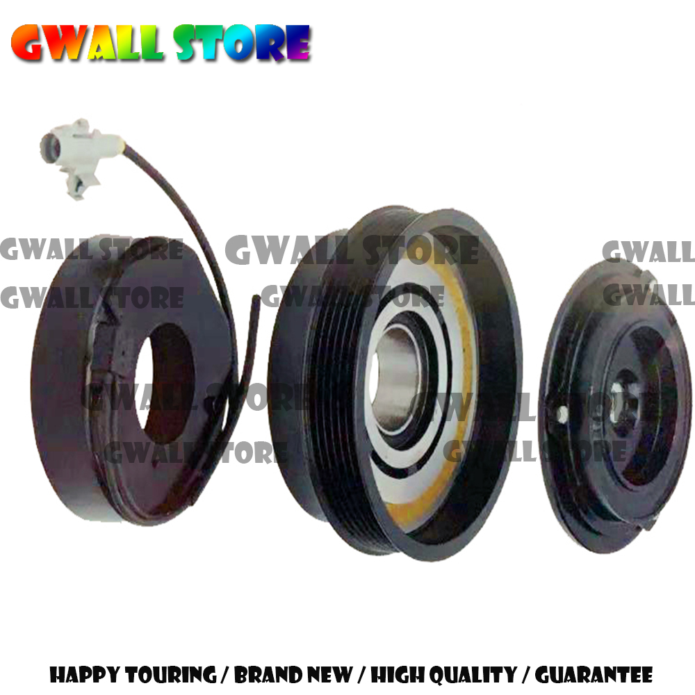 Air Conditioning Compressor Clutch For Car Great Wall Diesel 5 Wingle Haval H54D20 Engine 6PK 8103200K84