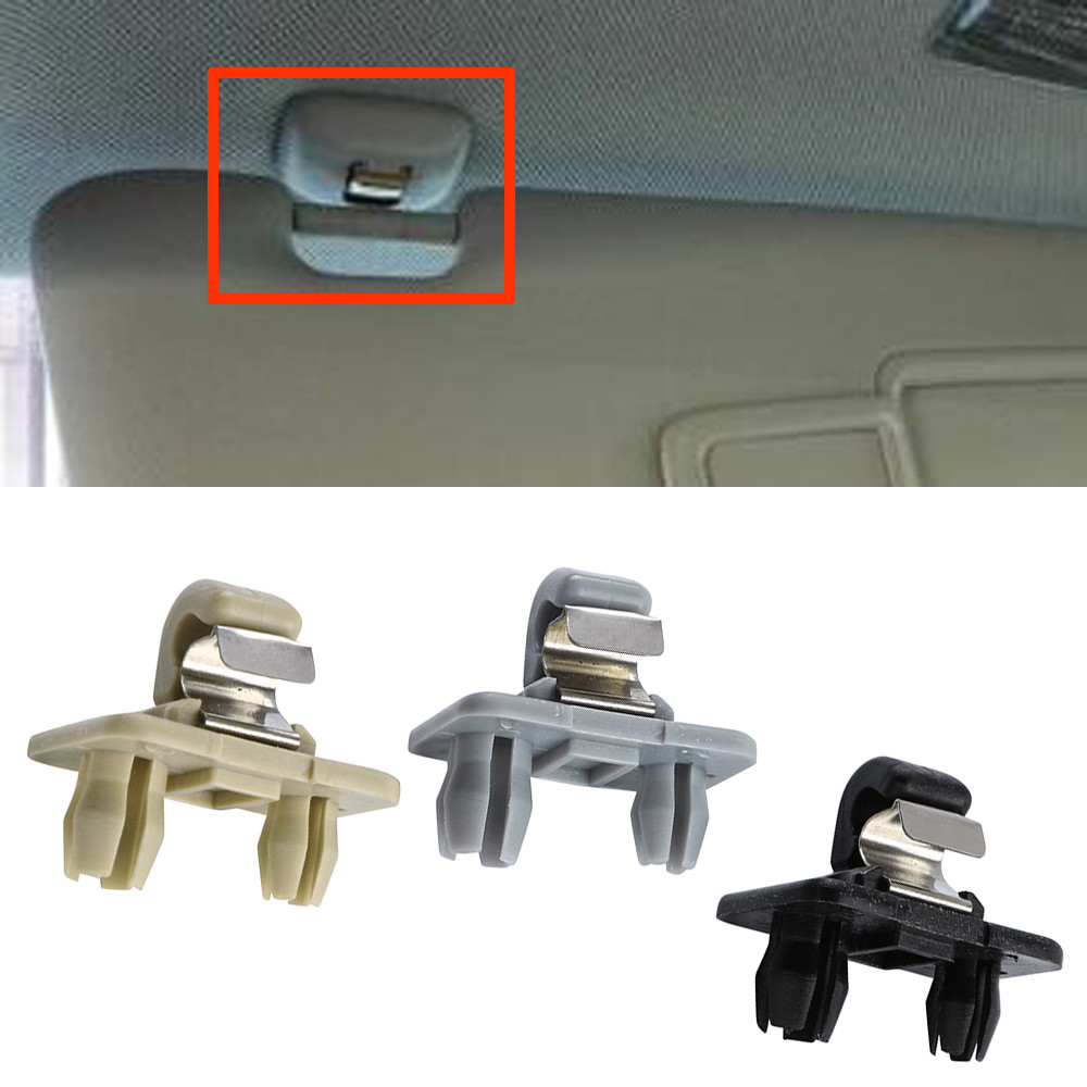 2018 Audi Q3 Interior: 2018 Interior Sun Visor Clip Holder Hook For Audi A1 A3 S3