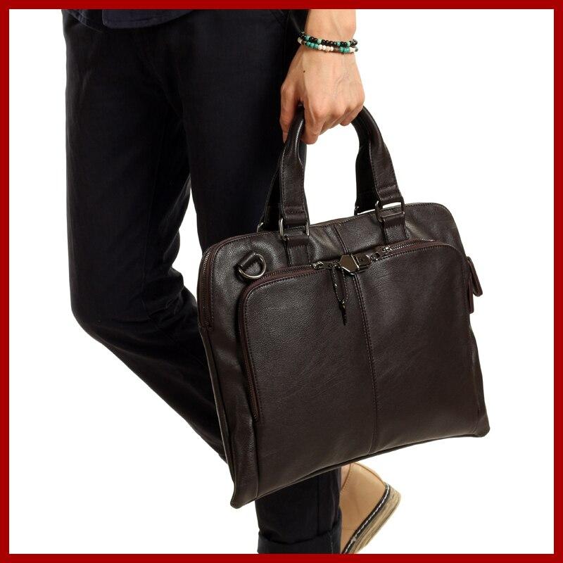 NEW HOT SELL 2017 Vintage Business High-grade Leather Men Shoulder Messenger Bags Over Shoulder Cross Body Men's Travel Bags