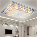 Modern minimalist E27 crystal LED ceiling light for living room dining room low voltage led ceiling lights lamp free shipping