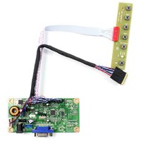 VGA LCD Controller Board Work For 17.3 LP173WD1-TL N173FGE-L21 N17306-L02 LTN173KT02 1600X900 LCD Screen