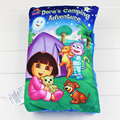 Dora Plush Toys Baby Cloth Book Kids Early Development Cloth Books Doll Colorful Educational Unfolding Activity Books Pillow