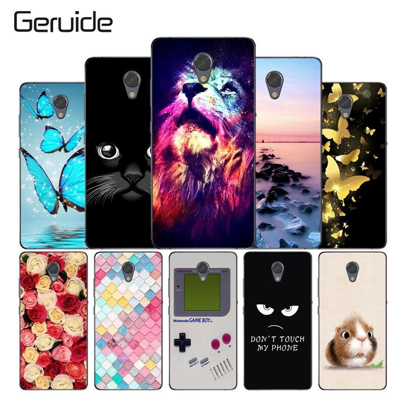 Geruide Lenovo P2 Case Cover, High Quality Soft Silicone TPU Back Cover Case For Lenovo Vibe P2 P2C72 P2A42 Phone Case Cover