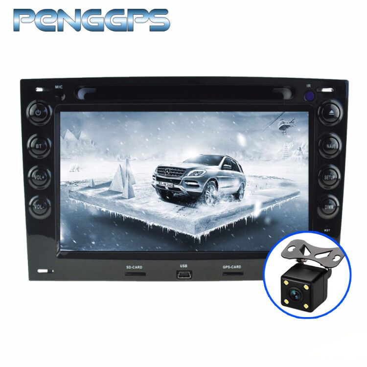 Octa Core CD DVD Player 2 Din Stereo Android 8 0 Car Radio for Renault Megane