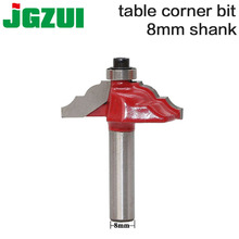 "1pc 8"" Shank  Edge Molding Router Bit C3 Carbide Tipped Wood Cutting Tool woodworking router bits RCT"