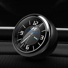 Украшение автомобиля часы автомобиля модифицированные автомобильные внутренние электронные кварцевые наручные часы для hyundai Sonata IX35 и т. д. аксессуары для часов