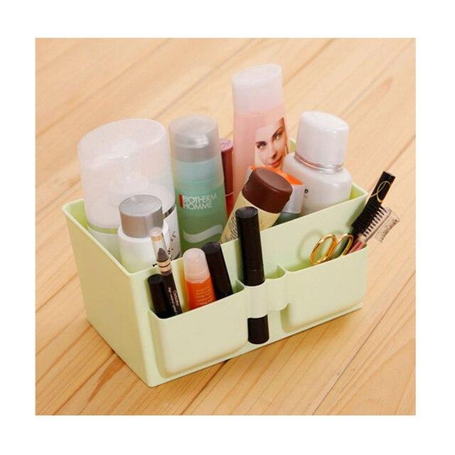 Cesta Para Brinquedos de armazenamento Prateleiras de Escritório Papelaria Caixa de Artigos Diversos de Jóias Cosmetic Container Caixa de Armazenamento Luva Caixa Esteticista