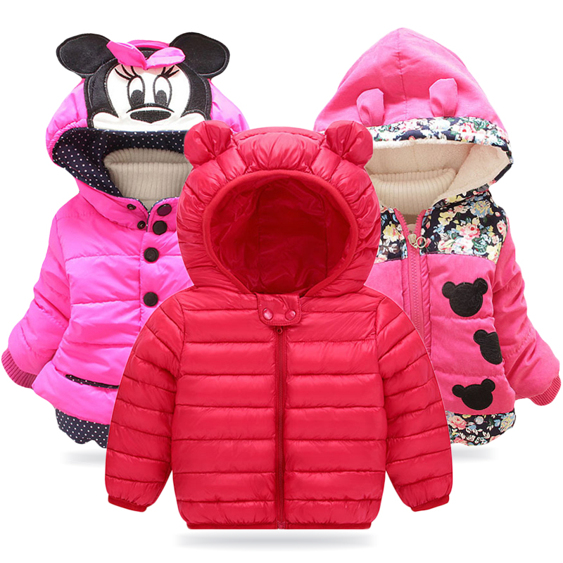 Baby Girls Jacket 2019 Autumn Winter Jacket For Girl Coat Kids Warm Outerwear Coat For Girl Clothes Children Jacket 1 2 3 4 Year
