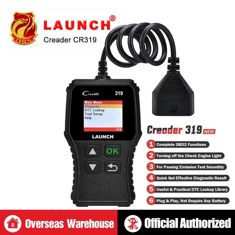 LANÇAMENTO Creader 319 CR319 X431 3001 Full OBD2 Ferramentas Leitor de Código de Auto Scan OBDII ferramenta de Diagnóstico Do Carro PK AD310 ELM327 OM123 Scanner