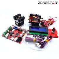 Zonestar 3d 프린터 diy 키트 업그레이드  이중 3 색 2 in 1 out 3 in 1 out 혼합 p802 z5 z6 z8 z9 z10 a8 3D 프린터 부품 & 액세사리    -