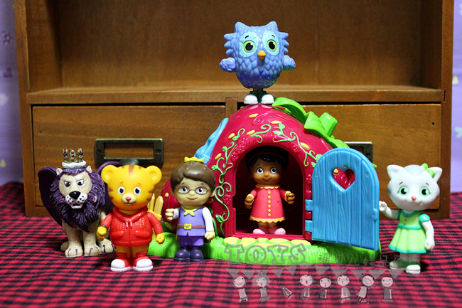 Toy-Doll Bird-Figure Tiger's Birthday-Gift Neighborhood Lion Girl Daniel Boy Cute
