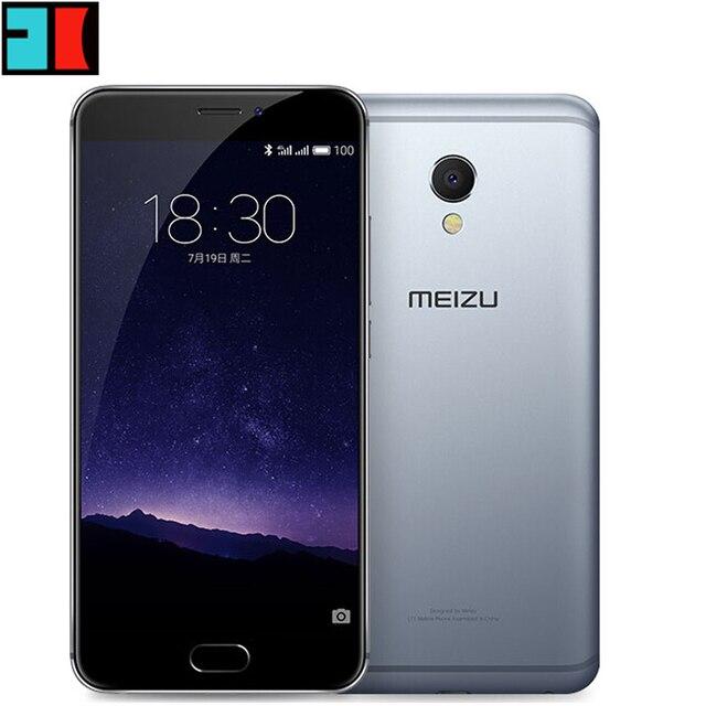 "Оригинал Meizu MX6 LTE 4 г смартфон 5.5 ""IPS Android 6.0 телефон MTK helio X20 Дека core 12.0MP 3 ГБ Оперативная память 32 ГБ Встроенная память Touch ID"