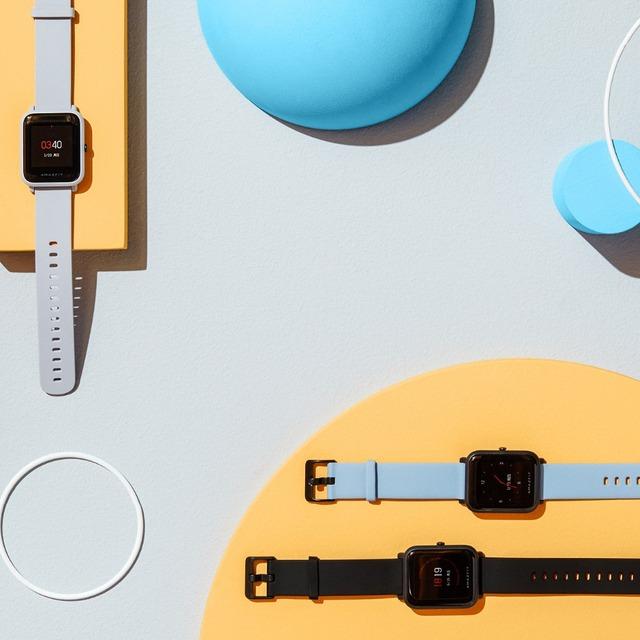 International Version Huami Amazfit Bip IP68 GPS Smart Watch 45 Days Standby Support Strava Heart rate health tracker