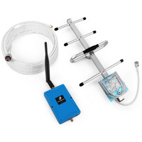 100% Original Phonetone LTE 4G 700MHz Cell Phone Signal Booster 70dB Band 28 Repeater Amplifier with Yagi Antenna for Home Use