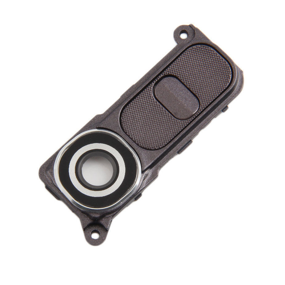 For LG G4 H810 H811 H815 VS986 LS991 F500L White/Black/Gold Color Rear Camera Lens Cover Ring With Power Key Button image