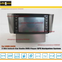 For LEXUS LS 430 2000~2007 – Car Radio Stereo CD DVD Player / HD Touch Screen Audio Video GPS Navigation System
