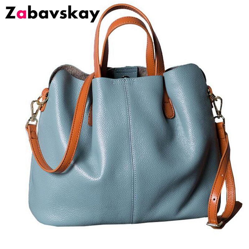 Luxury Women bag Women Genuine leather bags brands famous designer women shoulder bag women large handbags bolsa feminina DJZ316 2018 new designer retro genuine leather bags handbags women famous brands ladies office work bag messenger clutch bolsa feminina