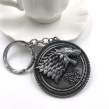 Winter is Coming Stark Keychain