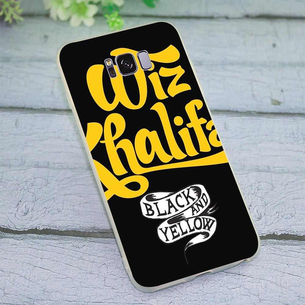 Чехол для samsung Galaxy A9 2018 Wiz Khalifa рэп в стиле «хип-хоп» для мобильного телефона чехол для A10 A20 A30 A40 A50 A70 J3 J5 J6 J7 A5 2017 A6 A7 A8