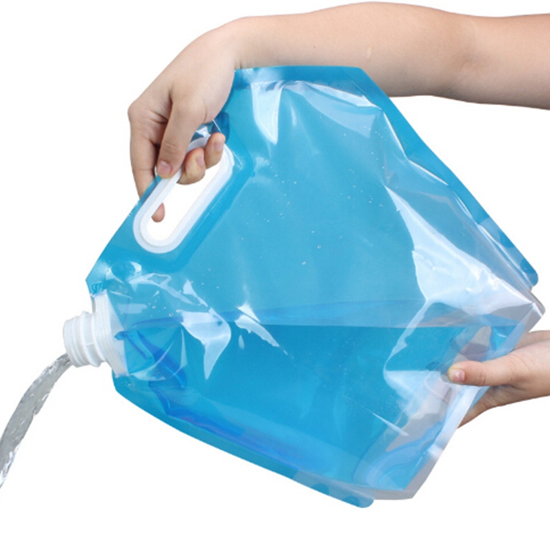 10L Foldable Water Container Storage Carrier Bag Camping Outdoor Portable Picnic