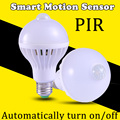 PIR Motion Sensor Bulb Lamp  5W 7W 9W E27 LED Bulb Lights Smart Bulb Infrared Motion  Ampoule Led E27 220V Home Lighting
