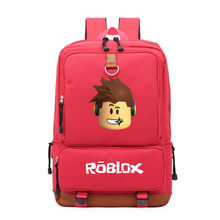 2019 Roblox Game Casual Backpack for Teenagers Kids Boys Children Student School Bag travel Shoulder Bag Unisex Laptop Bag(China)