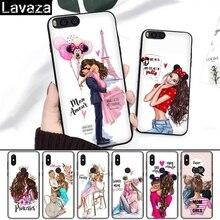 Lavaza Baby Mom Girl Queen Coque Silicone Case for Xiaomi Redmi 4A 4X 5A S2 5 Plus 6 6A Note 4 Pro 7 8 k20 Prime Go