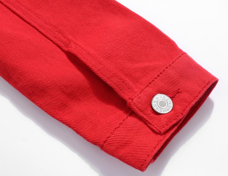 Jeans Jacket and Coats for Women 19 Autumn Candy Color Casual Short Denim Jacket Chaqueta Mujer Casaco Jaqueta Feminina 12