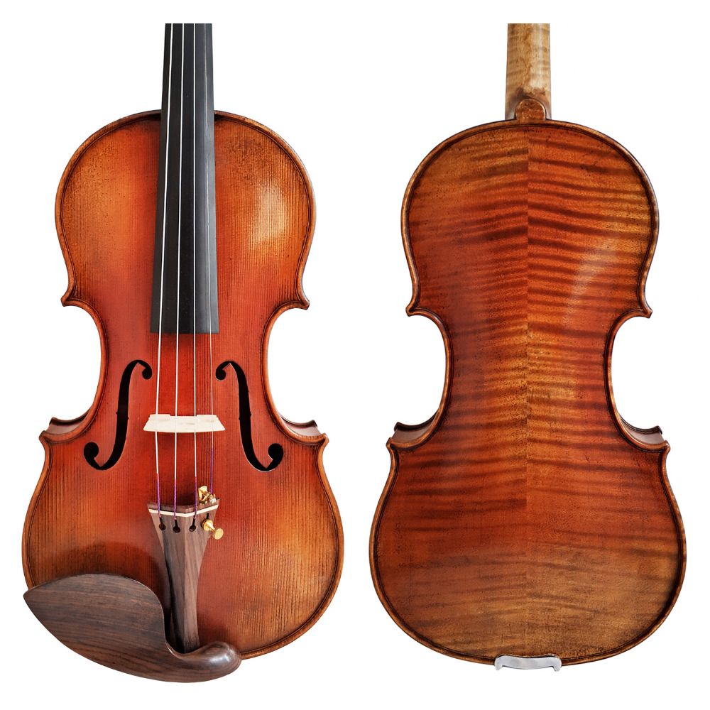 Free Shipping Copy stradivarius 1716 100% Handmade Oil Varnish Violin FPVN04 + Foam Case and Carbon Fiber Bow free shipping copy stradivarius 1716 100