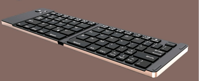 Փեղկավոր ստեղնաշարի ալյումինե - Համակարգչային արտաքին սարքեր - Լուսանկար 3