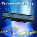 Jigu batería del ordenador portátil para emachines e525 e627 e725 d525 d725 g620 g627 g725 e627-5019 easynote tr81 tr82 tr83 tr85 tr87