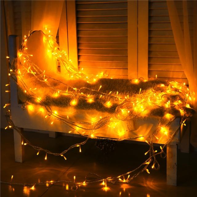 הגדול 30 M 300 נורות LED מחרוזת אורות חג המולד תאורה חיצונית gerlyanda YG-24