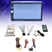 7 Touch Screen font b Car b font MP5 Player 2 DIN Bluetooth 1080P FM USB