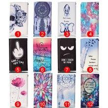 Luxo bela pintura livro estilo caso wallet leather flip para meizu mx5 proteger tampa do telefone móvel magnético com slots de cartão
