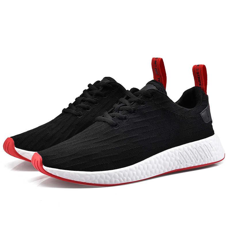 2018 осень пара sneakses обувь модные женские дышащие удобные офисные туфли повседневная обувь женская обувь на плоской подошве большой размер 42