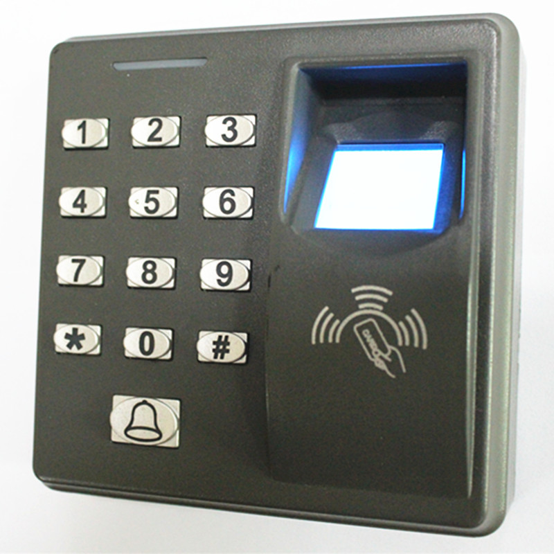 500User  Fingerprint /Password /ID Card  MF-100 Door Access Control System 2 4 inch 500 user time attendance finger print password id card access control system
