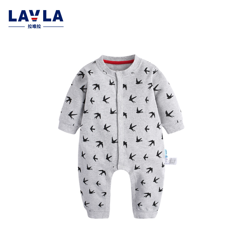 New 2016 Autumn/Winter Baby Rompers clothes long sleeved coveralls for newborns Boy Girl bird print high quality baby Clothing cotton baby rompers set newborn clothes baby clothing boys girls cartoon jumpsuits long sleeve overalls coveralls autumn winter