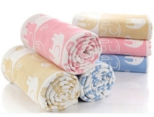 Baby Muslin Blanket Soft Kids Blankets For Beds Baby BathTowl Swaddle Wrap Baby Bedding All Seasons Newborn Photography Props