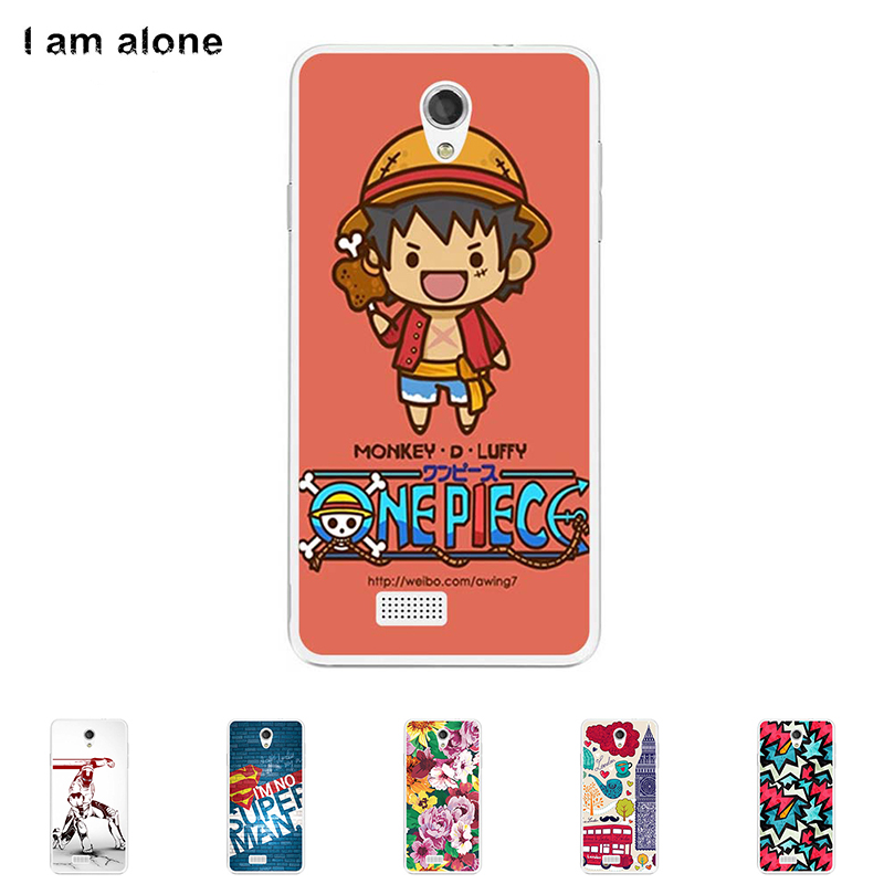 For Fly IQ4416 Era Life 5 4.5 inch Cellphone Case Soft TPU Silicone DIY Cover Mask Color Paint Protective Skin Bag
