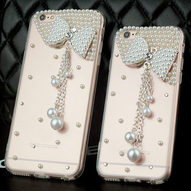 sports shoes 79faa 2dddc US $4.99 |Luxury Diamond Elegant Pearl Soft TPU Case back cover For HTC  Desire EYE BUTTERFLY 2 3 M9 PLUS M8 A9 828 628 626 826 820 816 on ...