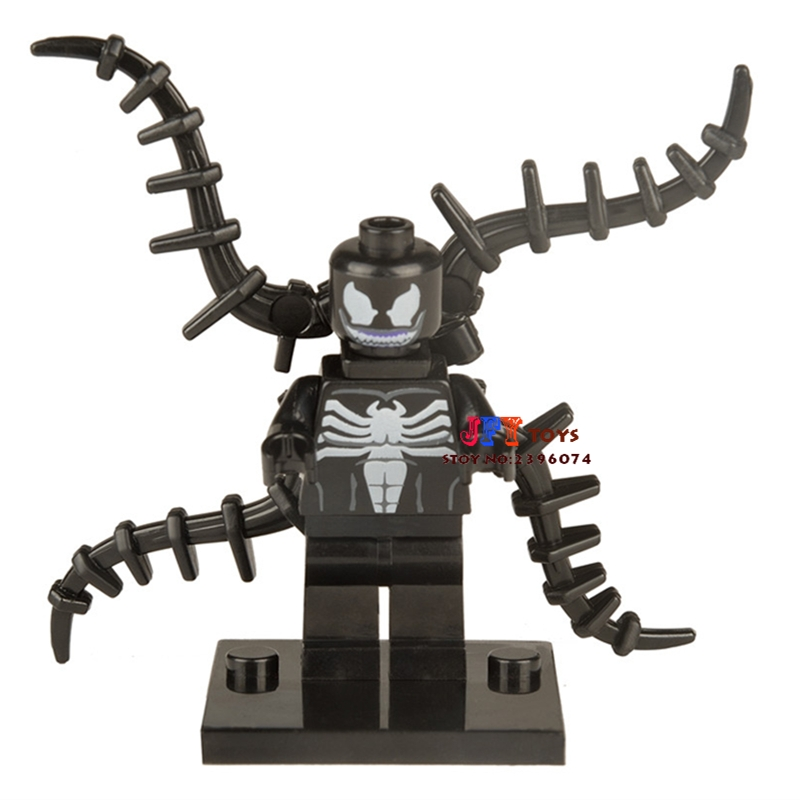 Single Sale star wars superhero marvel Venom building blocks model bricks toys for children brinquedos menino loz super mario kids pencil case building blocks building bricks toys school utensil brinquedos juguetes menino jouet enfant