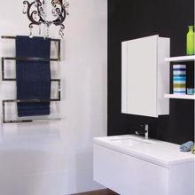 Дизайнерские квадратные полотенцесушители с электрическим подогревом, 5 бар, ручная зеркальная полировка 304 из нержавеющей стали 500*900 мм