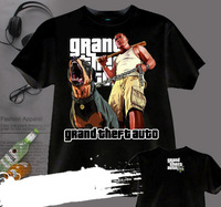 [XHTWCY] Free shipping 2019 SALE NEW GRAND THIEFT AUTO FIVE GTA 5 MAN BLACK T SHIRT SIZE AVAILABLE grand theft auto