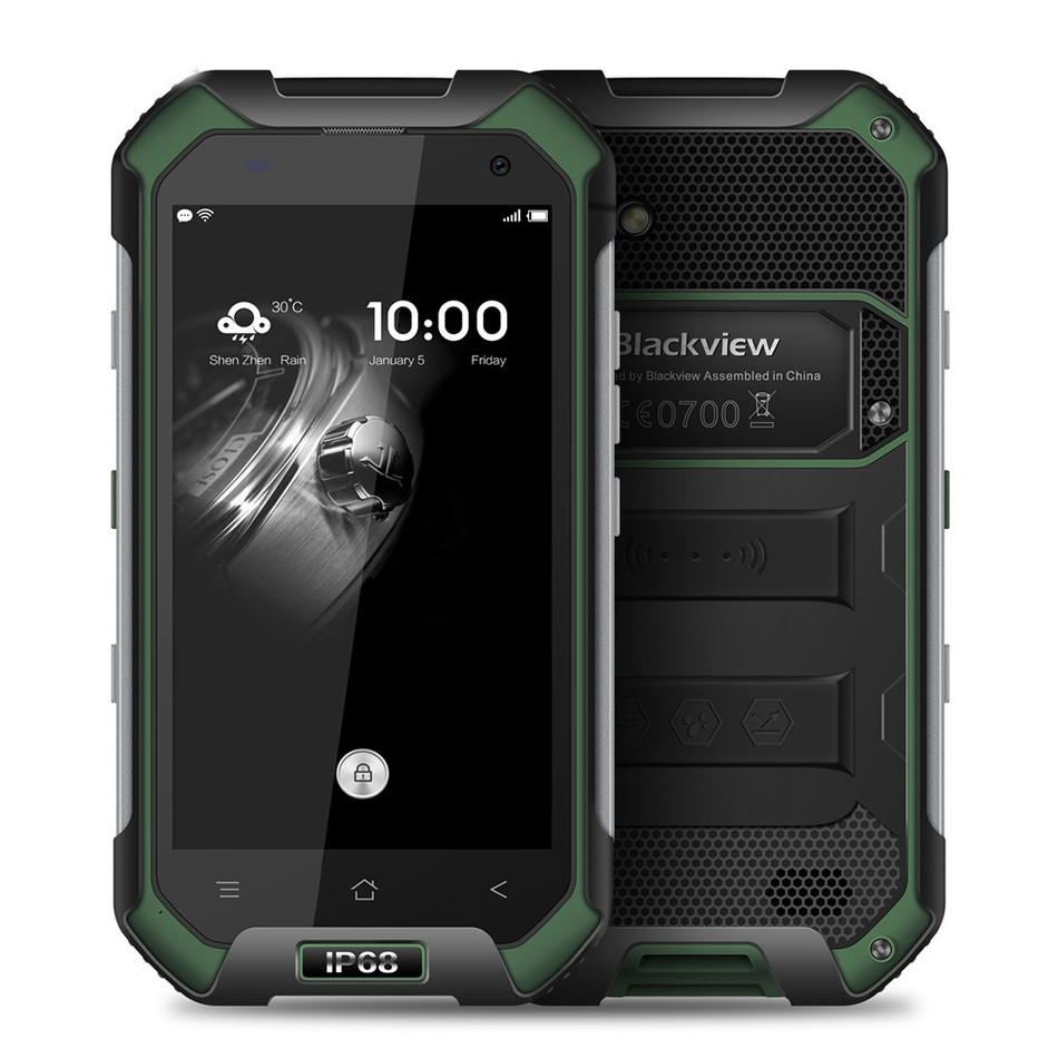 "Original Blackview BV6000S IP68 Waterproof Shockproof 4G Smartphone 4.7"" Android 6.0 MT6735 Quad Core 2GB 16GB NFC Mobile Phone-in Cellphones from Cellphones & Telecommunications    1"
