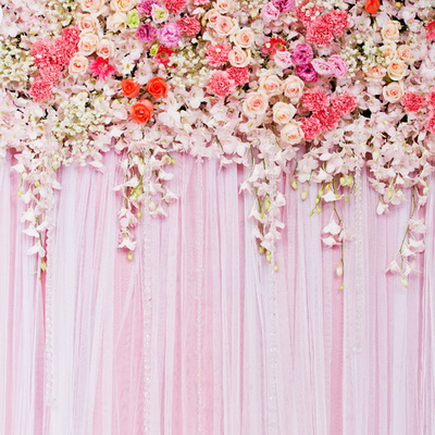 Huayi Wedding Stage Backdrop Decoration Fabric Cloth Backdrops For Photography Portable Stands Curtain D