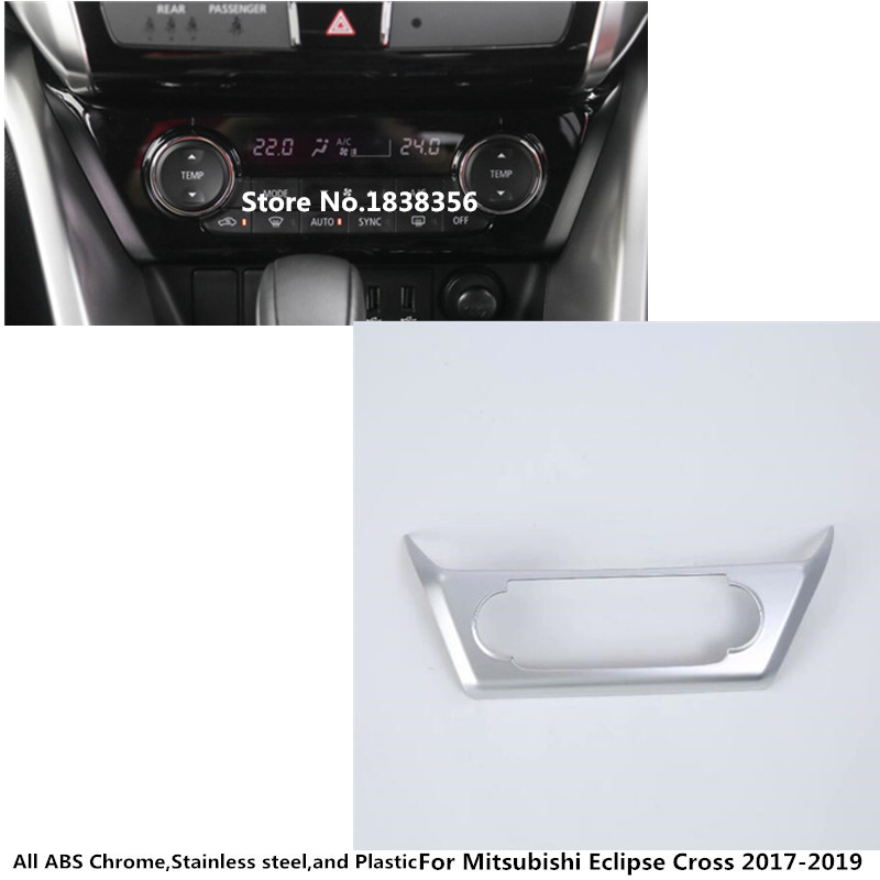 Back To Search Resultsautomobiles & Motorcycles Car Styling Switch Vent Outlet Air Condition Abs Matte Panel Control Trim Frame 2pcs For Toyota Prius Phv 2017 2018 2019