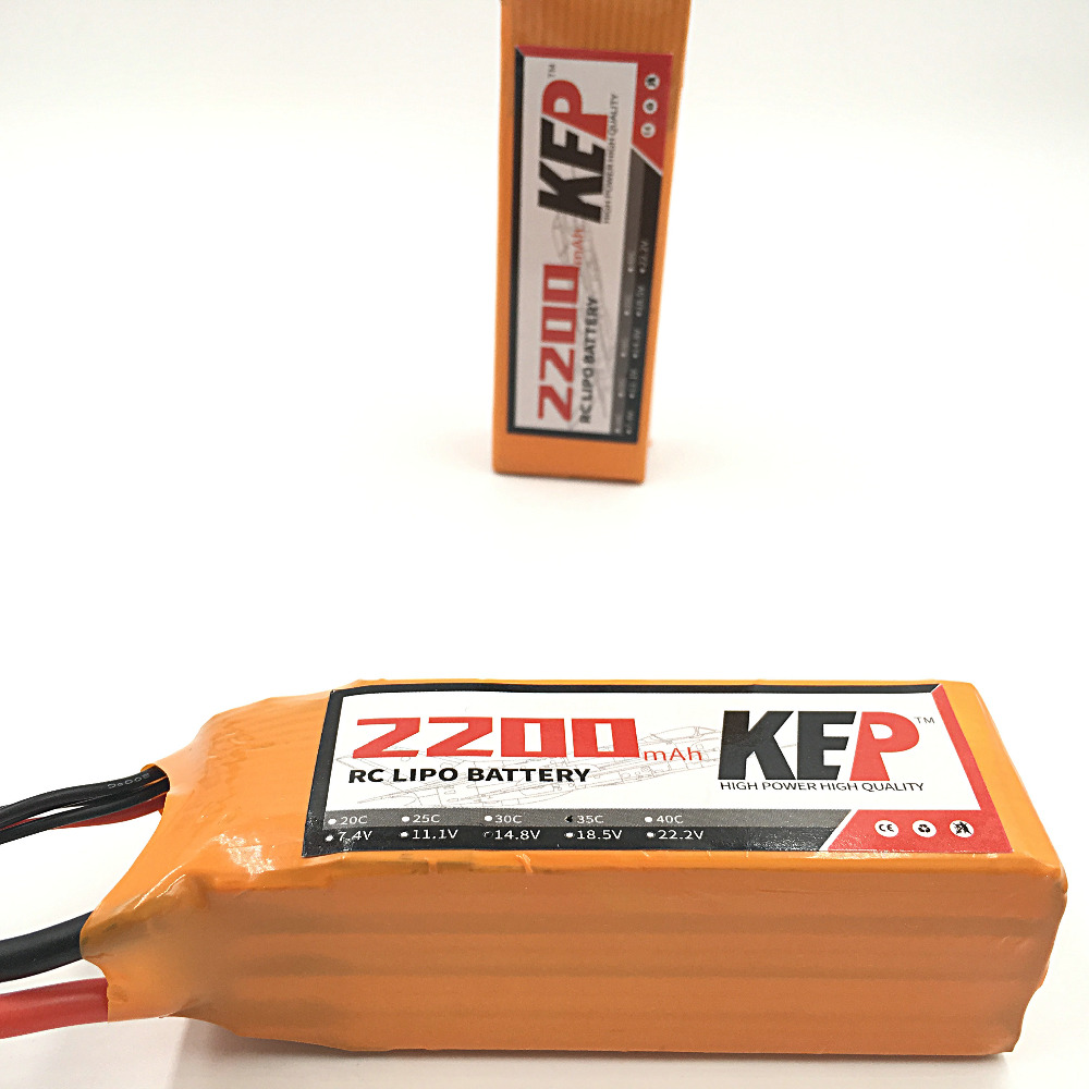 KEP RC 6S LiPo Battery 22.2v 2200mAh 40C 6S RC Li-Poly Battery For RC Helicopters Quadcopter Boats Cars Drones 6S AKKU 1s 2s 3s 4s 5s 6s 7s 8s lipo battery balance connector for rc model battery esc